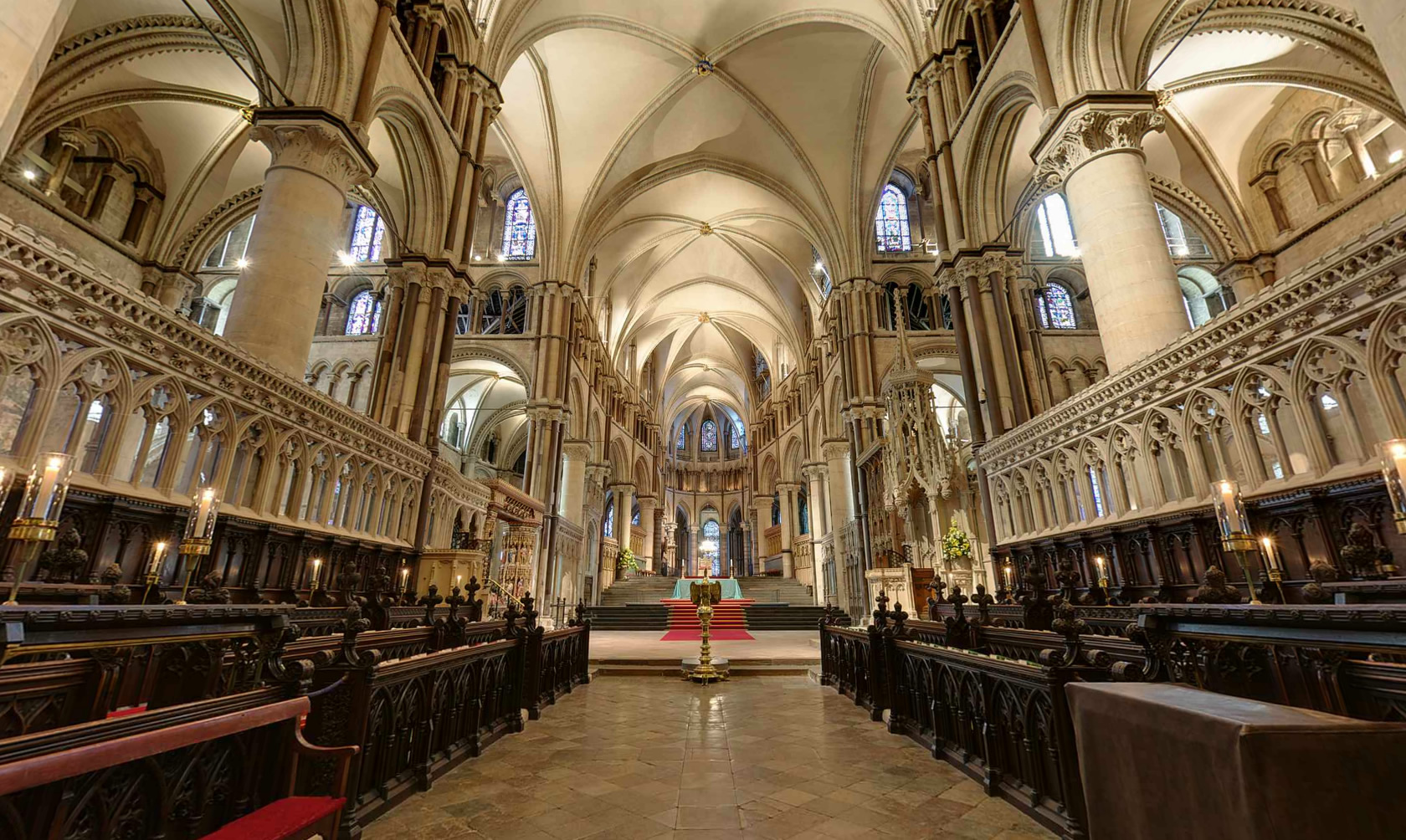 Virtual Tour Of A Cathedral