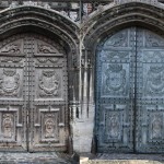 Spot the difference : Christ Church Gate
