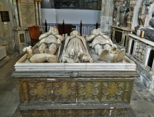 Tomb of Lady Margaret Holland and her two Husbands, John Beaufort, Earl of Somerset and Prince Thomas of Lancaster
