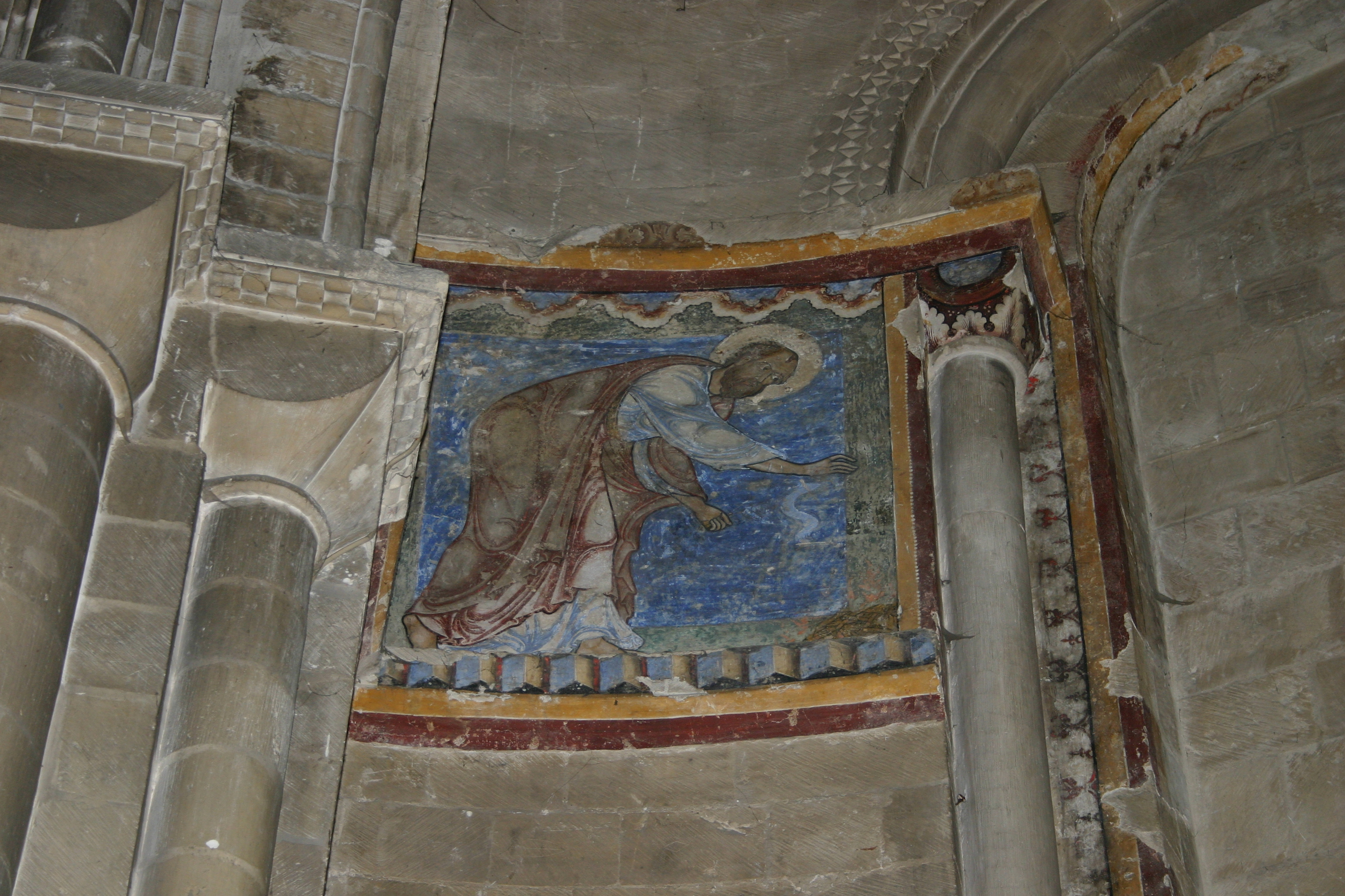 Painting St. PaulSt. Anselm's Chapel – Canterbury Cathedral
