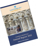 Canterbury Cathedral Trust Annual Report 2015