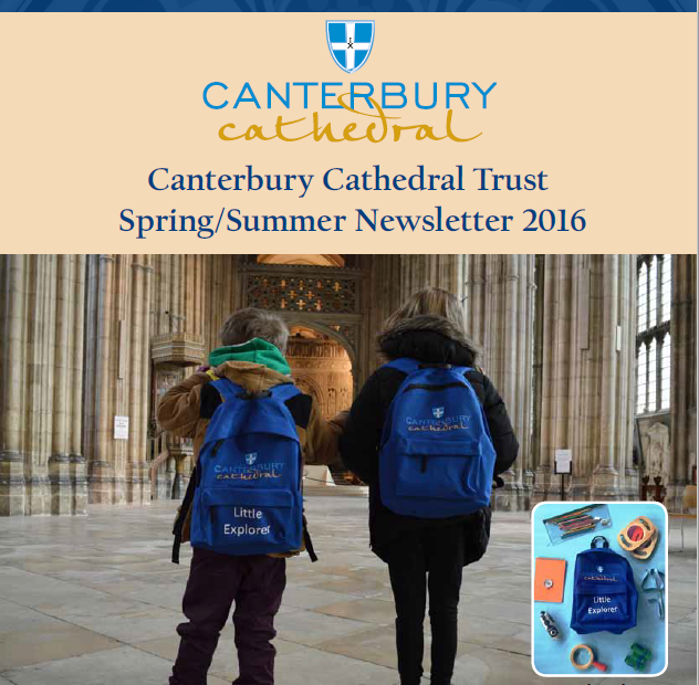 Canterbury Cathedral Trust news