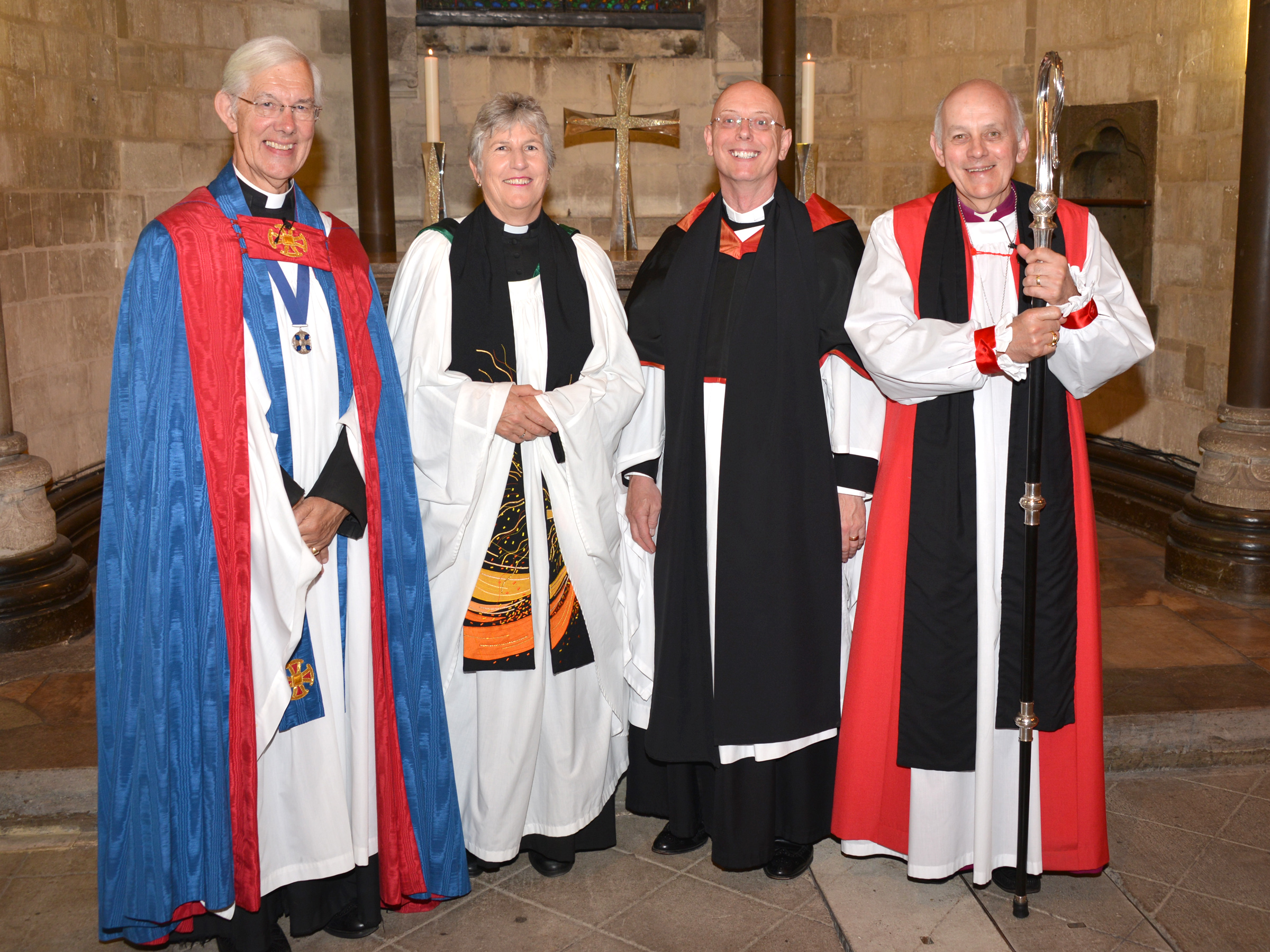 Two new Honorary Canons Installed at Canterbury Cathedral