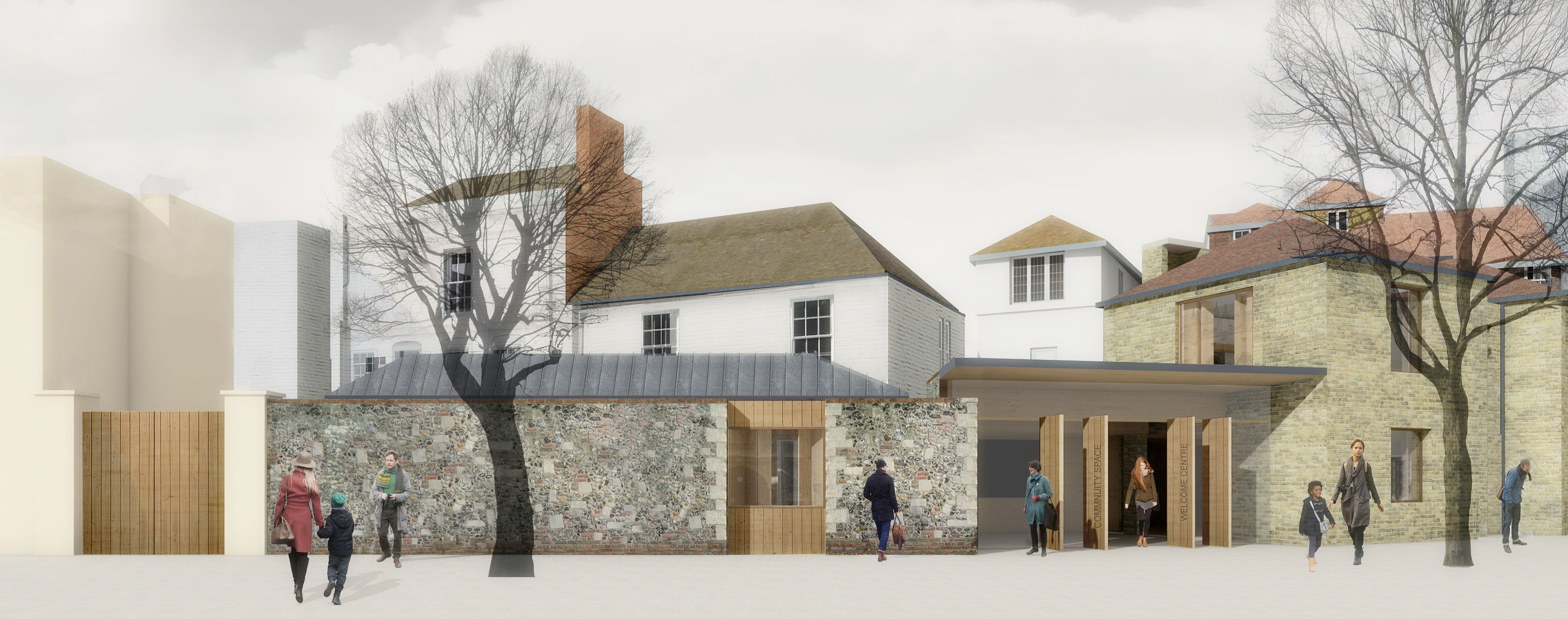 New Welcome Centre plans