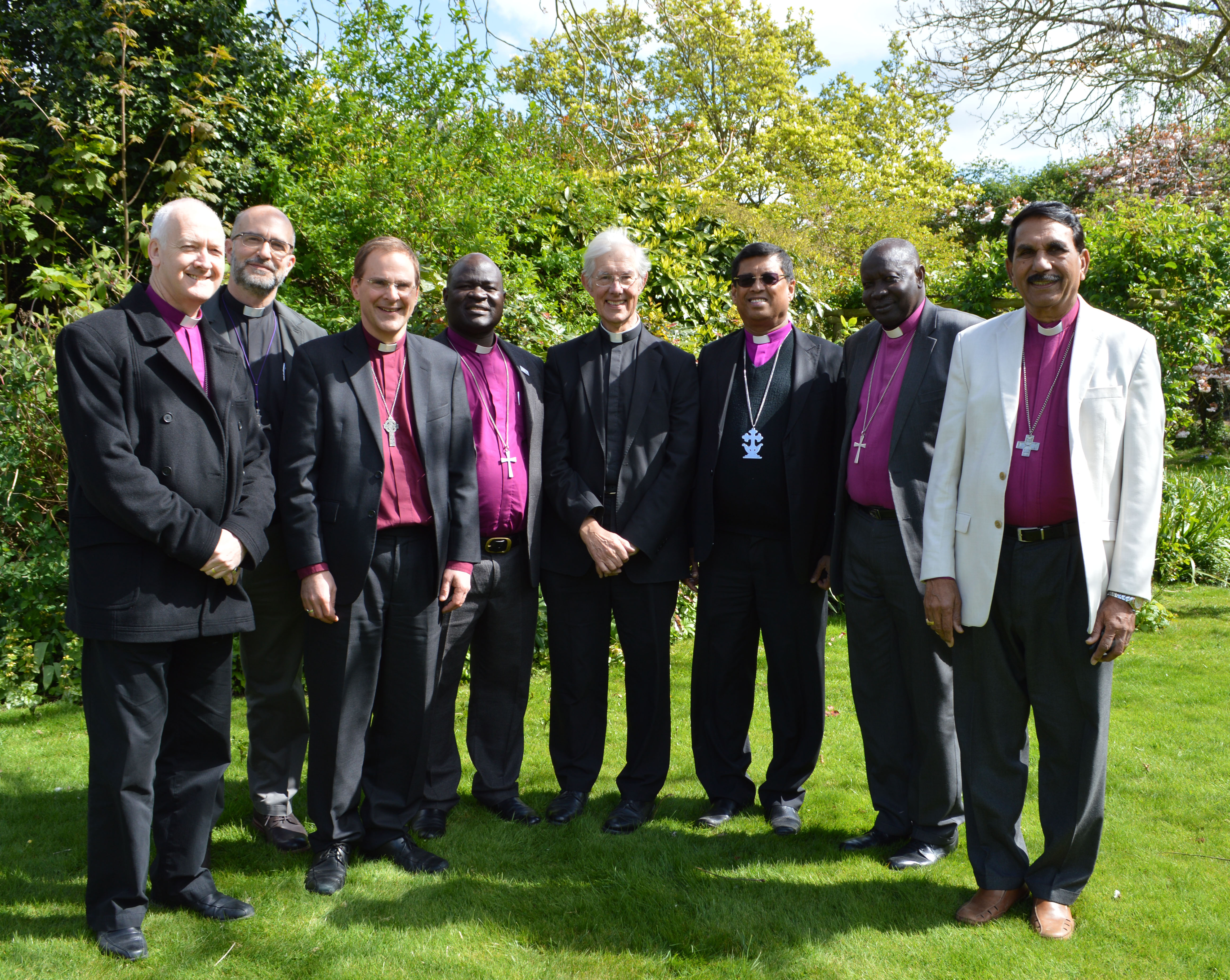 Visit to Canterbury by international bishops