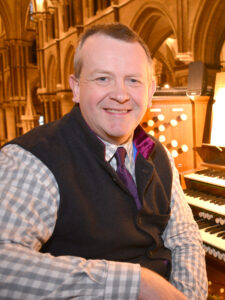 Assistant Organist, Adrian Bawtree