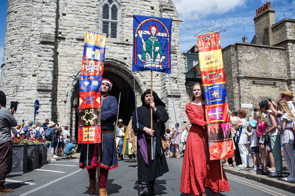 Canterbury Medieval Pageant