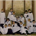 Choristers in the Chapter House