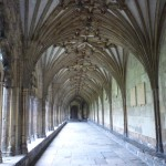 Cloisters passage and ceiling