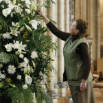 Flower arranging flourishes at the Cathedral