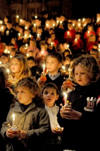 Cathedral to glow in candlelight this Christmas