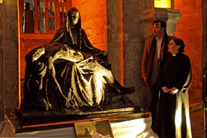 Pieta debuts in the Crypt