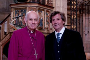 Bishop Trevor Willmott and Lord Melvyn Bragg