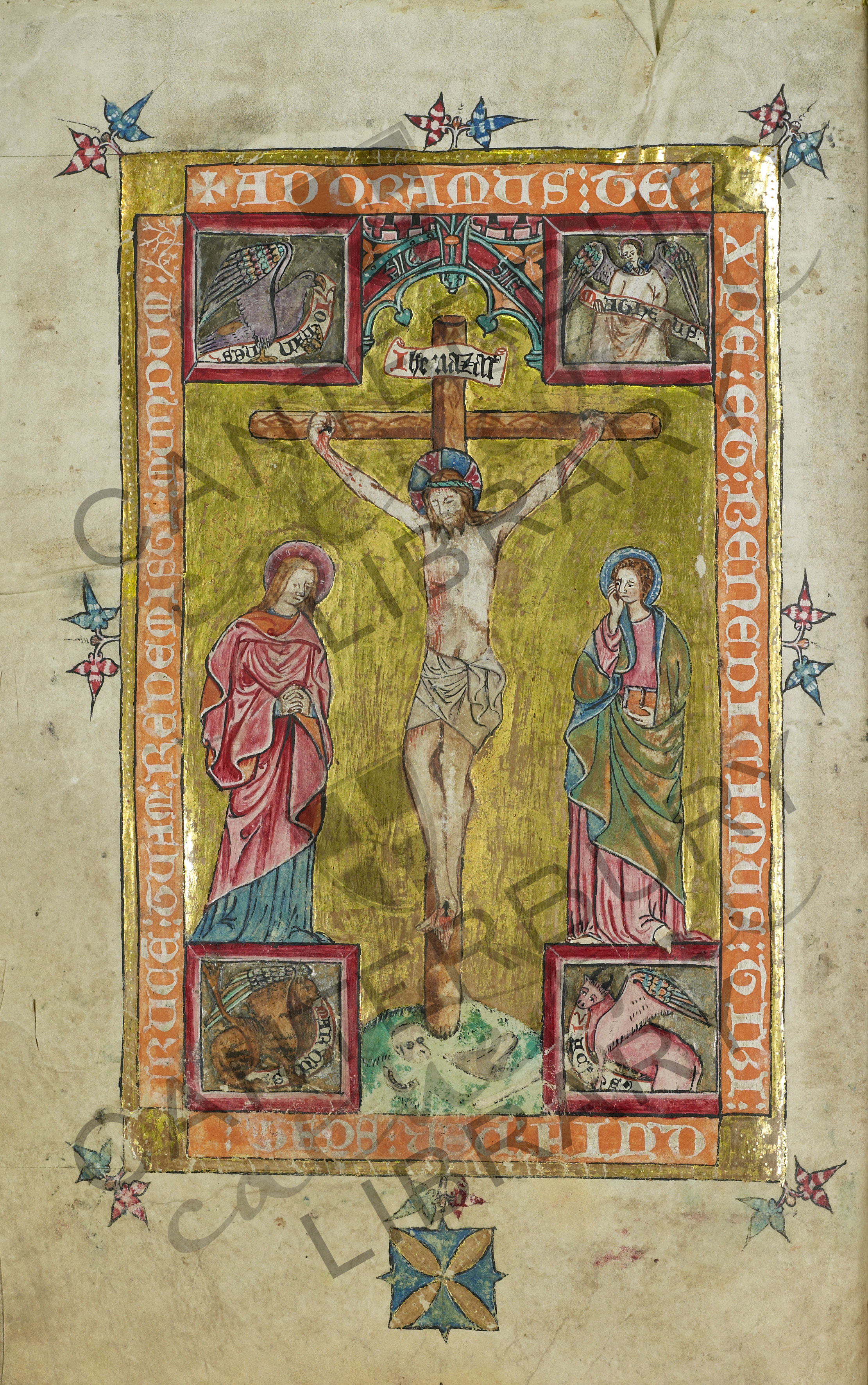 'Adoramus te': the Crucifixion from the Plumptre Missal