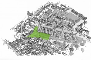 Canterbury Cathedral's Landscape Design Competition Exhibition