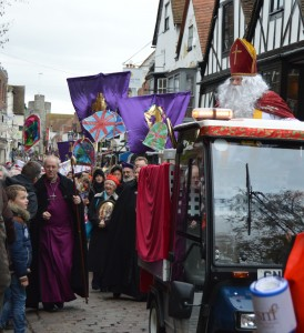 The day St Nicholas came to town