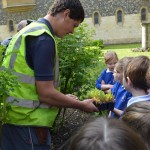 03  |  Poppy planting with St Peter's Methodist School
