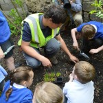 04  |  Poppy planting with St Peter's Methodist School