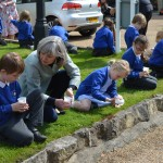 11 (2)  |  Poppy planting with St Peter's Methodist School