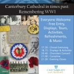 Cathedral Open Evening will remember The Great War