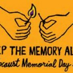 'Keep the memory Alive' Holocaust Memorial Day