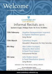 Informal Recitals 2015
