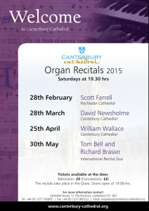 Organ Recitals 2015