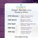 Organ Recitals 2016