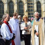 Becket relic arrives at Canterbury Cathedral