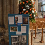 One of the many displays around the Cathedral.