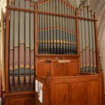 The organ in the Huguenot chapel.