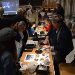A variety of archaeological finds on display at our Open Day.
